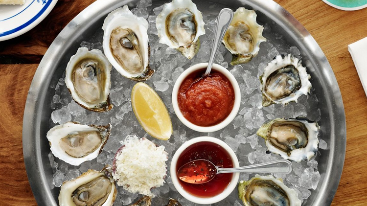 Raw Oyster Happy Hour